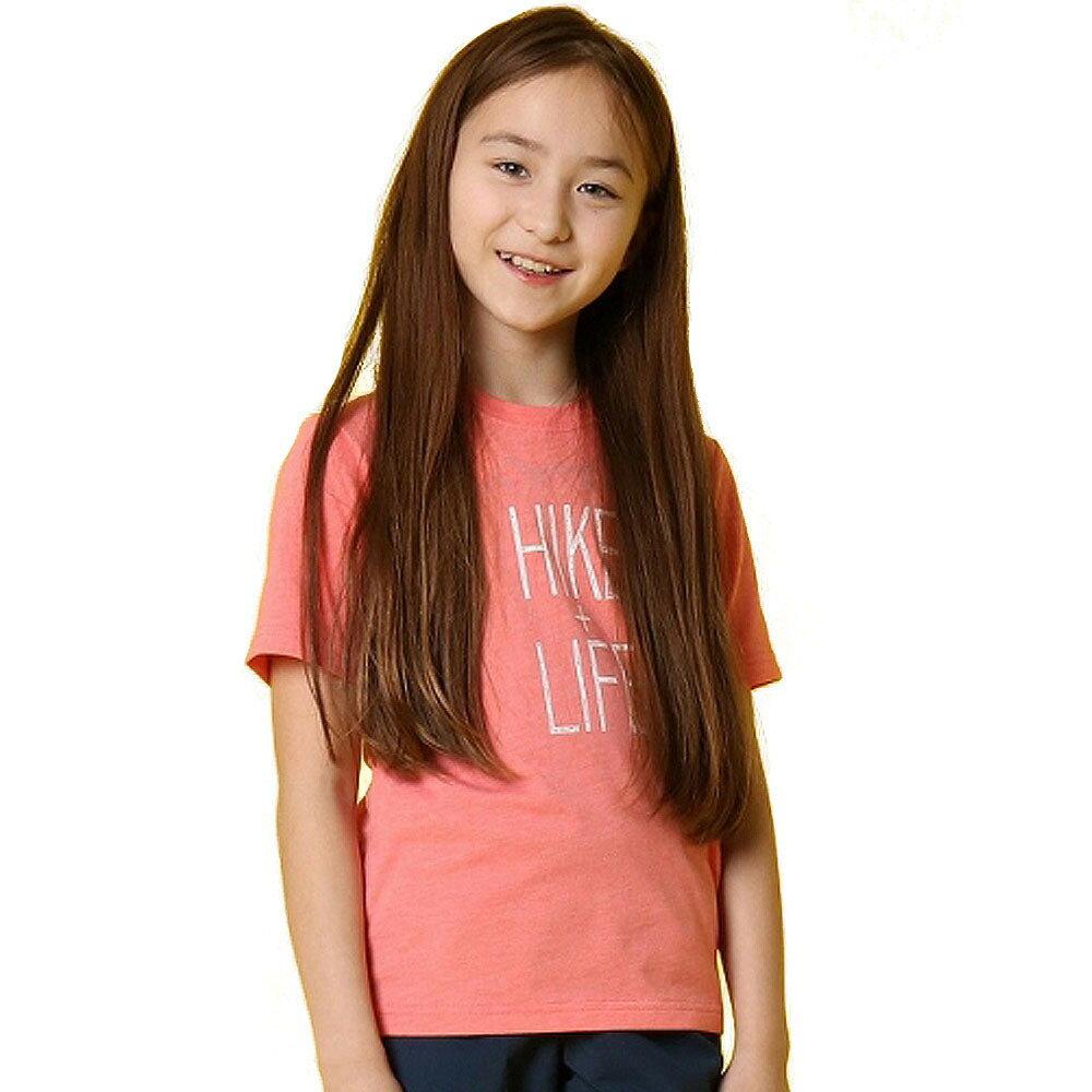 コロンビア チュファンクトゥ ハイク ユース ショートスリーブTシャツ(ピンク×120cm)