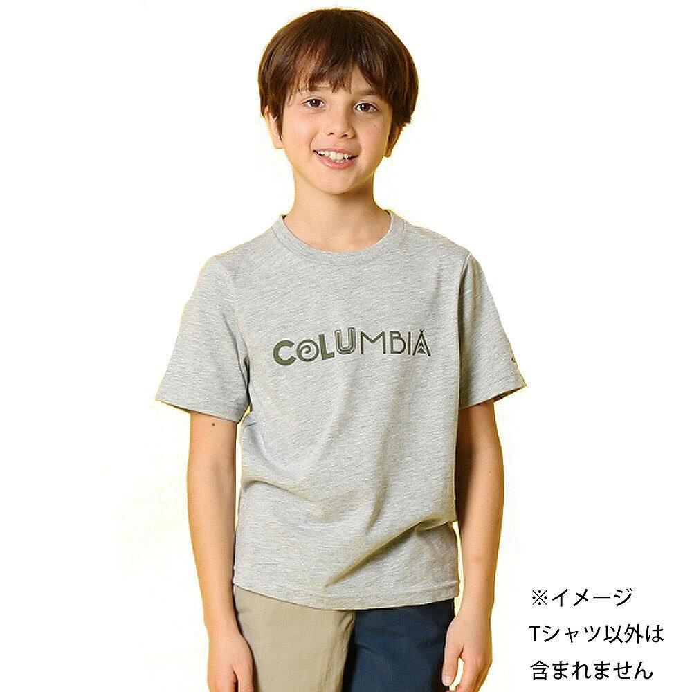 コロンビア ケネット ハイク ユース ショートスリーブTシャツ(グレー×120cm)