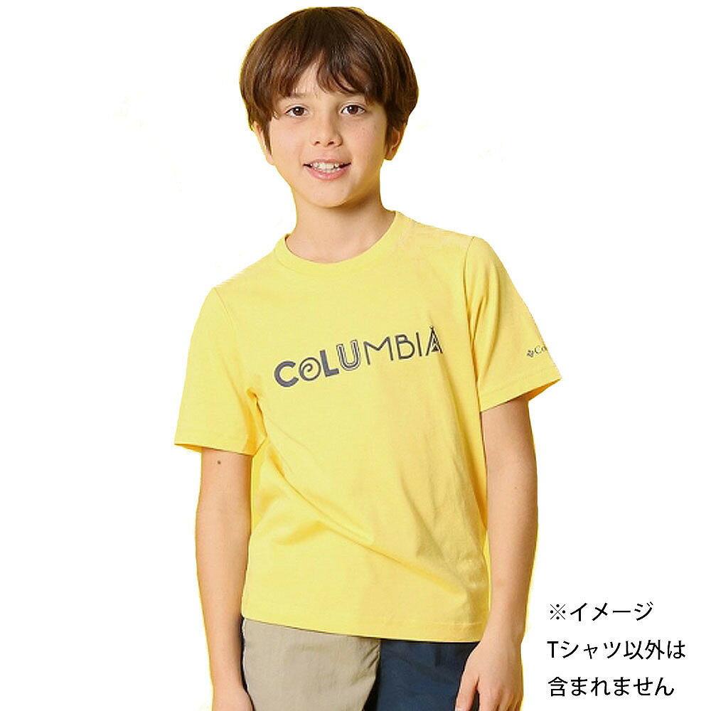 コロンビア ケネット ハイク ユース ショートスリーブTシャツ(イエロー×110cm)