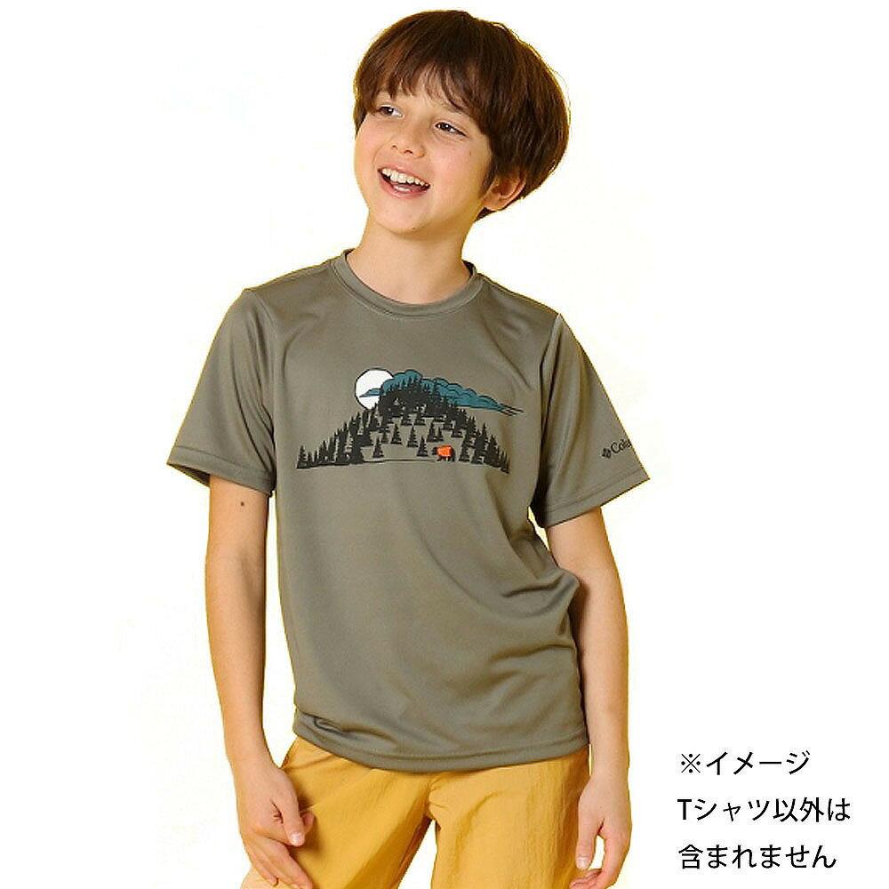 コロンビア ツリータスティック ショートスリーブシャツ(カーキ×120cm)