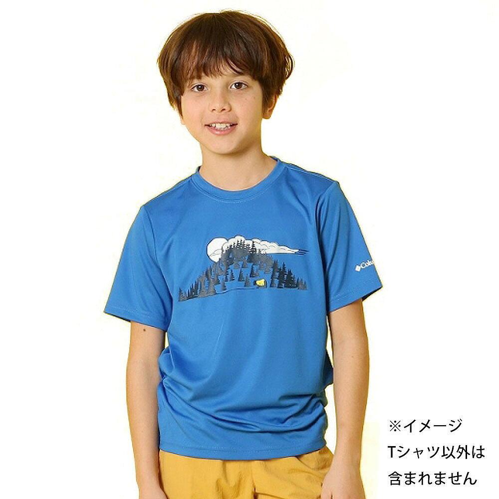 コロンビア ツリータスティック ショートスリーブシャツ(ブルー×110cm)