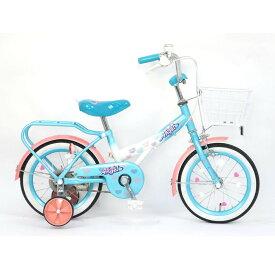 トイザらス限定 14インチ 子供用自転車 Little Angel-19(ライトブルー)