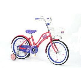 トイザらス限定 18インチ 子供用自転車 Little Angel-19(パープル)