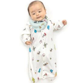 ベビーザらス限定 ディズニー スタイ付き新生児ドレス トイ・ストーリー(グリーン×50-70cm)