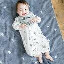 ベビーザらス限定 ディズニー スタイ付き新生児ドレス モノトーン総柄 トイ・ストーリー(グレー×50-70cm)
