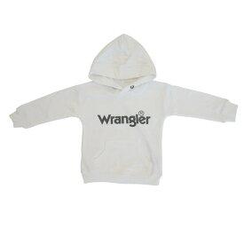 ベビーザらス限定 Wrangler ラングラー フード付き トレーナー(ホワイト×100cm)
