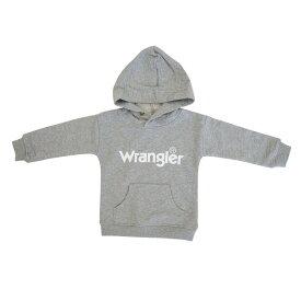 ベビーザらス限定 Wrangler ラングラー フード付き トレーナー(グレー×90cm)