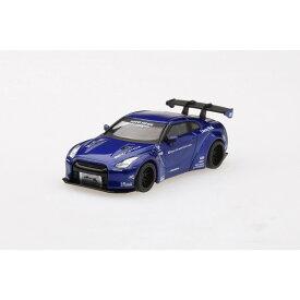 MINI GT 1/64 LB★WORKS Nissan GT-R R35 タイプ1 リアウイング バージョン1 キャンディブルー 北米限定 ブリスタータイプ (ノーマル版)【オンライン限定】