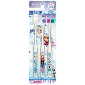 アナと雪の女王 クリア園児用歯ブラシ 3本セット