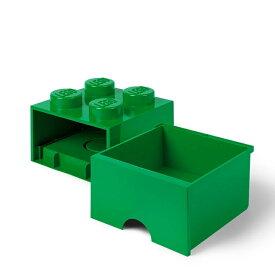 レゴ ブリック ドロワー4 ダークグリーン【レゴ 収納】【オンライン限定】