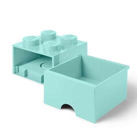 レゴ ブリック ドロワー4 アクアライトブルー【レゴ 収納】【オンライン限定】