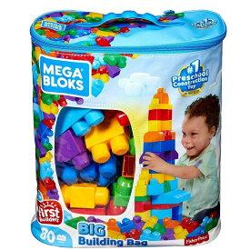 1才からのメガブロック 大きなブロック 80ピースバッグ