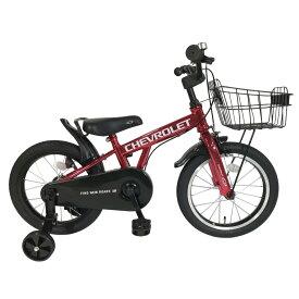トイザらスオリジナル シボレーKID'S16GLOW-TZ 折畳み補助輪【子ども用自転車】