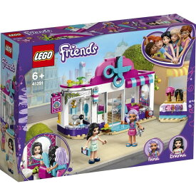 レゴ フレンズ 41391 ハートレイクのおしゃれヘアスタジオ