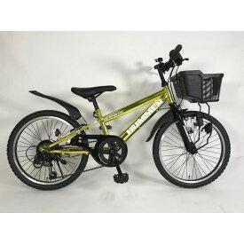 トイザらス限定 20インチ 子供用自転車 ハマージュニア CTB206GLOW-TZ(ゴールド)