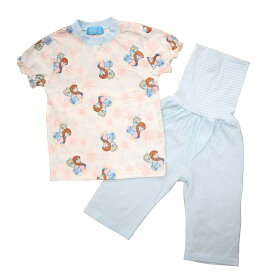 ベビーザらス限定 ディズニー 半袖パジャマ メッシュ アナと雪の女王2 (サックス×100cm)