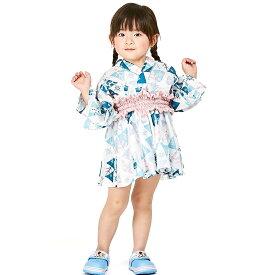 ディズニー アナと雪の女王2 かんたん浴衣 (100cm)