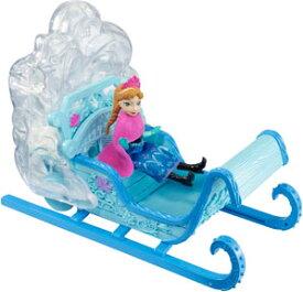 【アナ雪】【人形】雪が舞うしかけ付きなの!アナと雪の女王 マジカルスノーソリセット【Disney 人形 ソリ ギミック アナ エルサ オラフ ディズニー プリンセス アナと雪の女王 音が鳴る 光る 女の子 ぬいぐるみ プレゼント 箱 FROZEN クリスマス 誕生日】