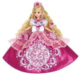 【リカちゃん】【ゆめみるお姫さま】ピンクグリッターリカちゃん【おもちゃ グッズ リカちゃん人形 りかちゃん人形 女の子 お人形 着せ替え 箱入り プレゼント クリスマス 誕生日 おすすめ 洋服 アクセサリー お姫様 ファッション おままごと ドレス キラキラ 小物】