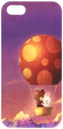 W4.1 【タイムセール】LINE FRIENDS スマフォケース ブラウン&コニー【 携帯 スマートフォン アイフォン ライン スタンプ おもちゃ LINE TOWN 】70s