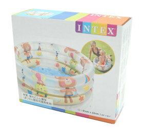 【プール】【ベビー】INTEX 57106NP インテックス ビーチ バディズ 3リング ベビープル BEACH BUDDIES 3-RING BABY POOL