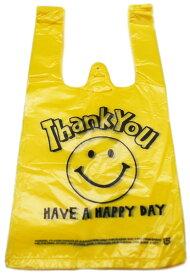 【ビニール袋】【メール便可】ビニール袋 VINYL BAG MINI SMILE YELLOW 100枚セット(絵柄片面のみ)【おもちゃ グッズ 袋 レジ袋 ビニールバッグ 手提げ かわいい おしゃれ まとめ買い 笑顔 スマイル セット 販促品 イベント 縁日 お祭り 男の子 女の子】