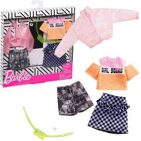 【バービー人形】【メール便可】マテル バービー ファッション2パック ジャケット・ギンガム