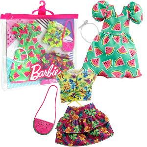 【バービー人形】【メール便可】マテル バービー ファッション2パック スイカトロピカル
