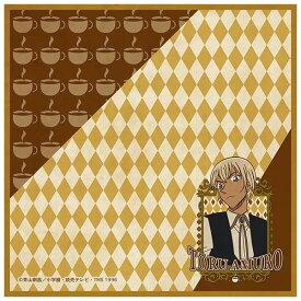 【名探偵コナン】【メール便可】ツインクル 名探偵コナン アートポスターシリーズ マイクロファイバータオル 安室透 約20×20cm 日本製