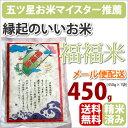 半額!全国送料無料 「福福米」450gお祝いに、内祝に・・・幸せを呼ぶ米 ※ネコポス配送でのお届けのため、同梱・代…