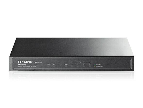 TP-Link Safestream VPNルーター ギガビット Ipsec対応 高速通信 雷サージ防止 強固なファイウォール機能 5年保証 TL-R600VPN/送料無料/