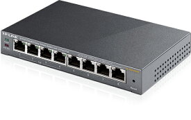 4ポート PoEスイッチングハブ  合計8 ポート ギガビット イージースマート スイッチ TP-Link TL-SG108PE
