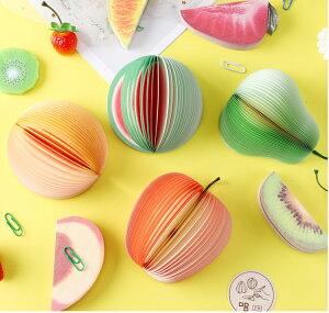 TPOS 【1000円ポッキリ】メモ帳 5種類セット立体フルーツメモ 3Dメモ文房具 セット おもしろ文具 おもしろ雑貨 おもしろグッズ 面白グッズ フルーツ 果物 くだもの 可愛い かわいい カワイイ