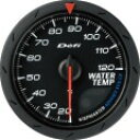 ■Defi アドバンスCRメーター【DF09202】60φ 黒 水温計 (表示範囲:20℃〜120℃)