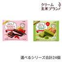 アサヒグループ食品 クリーム玄米ブラン ブラウニーシリーズ 選べる4種合計24個 選べるシリーズ