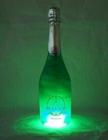 新感覚スパークリング マバム(mavam) フリーダム LED付き 750m パーティー インスタ映え