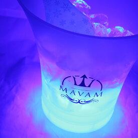 グラデーションに光る、マバム オリジナル ワインクーラ!(カラー:ホワイト) 白→緑→青→紫→赤とグラデーションに光る、マバムが「映える」MAVAM オリジナルワインクーラー登場!