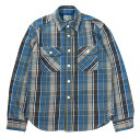"""JELADO [""""Unionworkers Shirts""""(ショート丈) STANDARD COLLECTION #JP42133 OLD BLUE size.XS,S,M,L,XL]"""