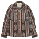 "JELADO [""Westcoast shirt"" BASIC COLLECTION SG51103 BROWN size.13,14,15,16,17]"