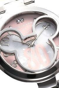 ◎在庫アリ!即日発送!シルエットウォッチミッキー生誕80周年記念世界限定メモリアル腕時計