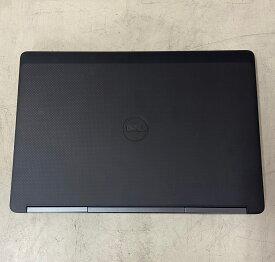 【中古】Dell Precision 7510 i7-6820HQ 2.70GHz 4Core 16GB SSD 256GB HDD 1TB Quadro M2000M Win10Pro64bit (15.6インチワイドFHD)