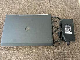 【中古】CAD用ノートパソコンDell Precision 7710 E3-1535M v5 2.90GHz 4Core メモリ8GB SSD 960GB Quadro M4000M 17.3インチ Win10Pro64Bit
