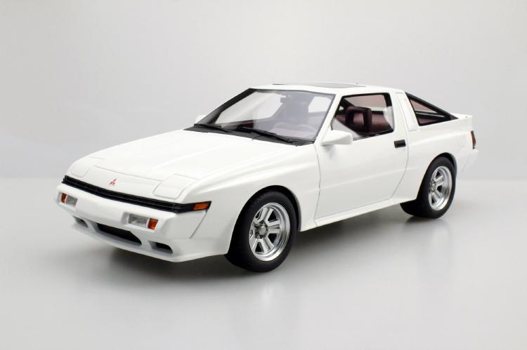 Mitsubishi Starionスタリオン ホワイト /LS COLLECTIBLES 1/18 レジンミニカー