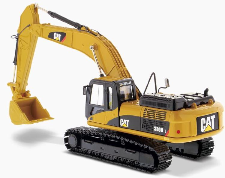 Cat 336D L Hydraulic Excavator 油圧ショベル  /ダイキャストマスターズ 建設機械模型 工事車両 1/50 ミニチュア