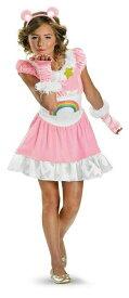 可愛いキッズ用ケアベアドレスコスチューム  コスプレ衣装 (仮装、パーティー、ハロウィン) 子供用
