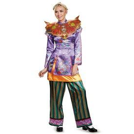 『アリス・イン・ワンダーランド』アリスのアジアン風デラックスコスチューム3点セット(大人用) ハロウィンコスチューム コスプレ (二次会、結婚式、仮装、パーティー、宴会、舞台、演劇、ハロウィン)  女性 大人用