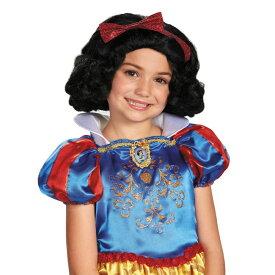 白雪姫のウィッグ(子供用) 小物アクセサリー ハロウィンコスチューム コスプレ (二次会、結婚式、仮装、パーティー、舞台、演劇、ハロウィン)  子供キッズ