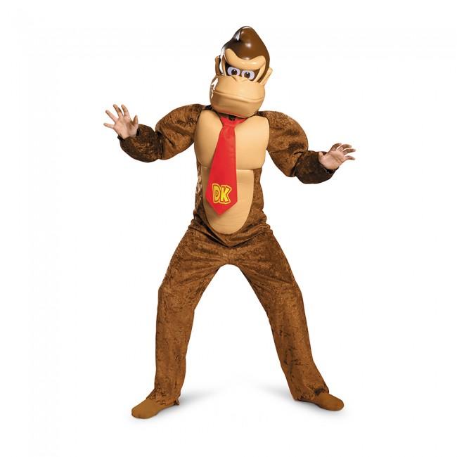 ドンキーコング スーパーマリオブラザーズ デラックス キッズ 3点セット /キッズ用 コスプレ衣装 (結婚式、仮装、ハロウィン) 子供用 男の子