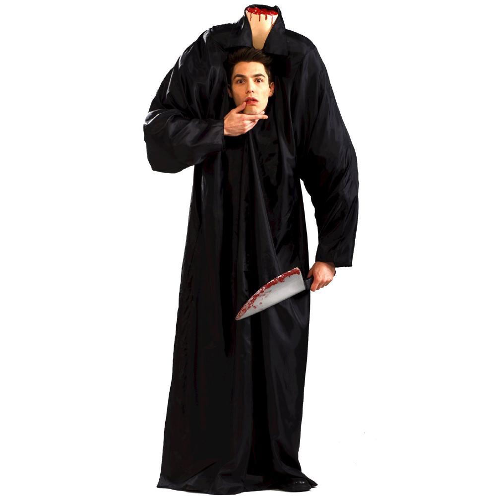 ヘッドレスマン アダルトコスチューム ワンサイズ 2点セット お笑い オモシロコスプレ衣装 (二次会、結婚式、仮装、パーティー、宴会、ハロウィン)大人男性用