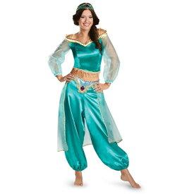 ディズニー 「アラジン」 ジャスミンのコスチューム コスプレ衣装 (二次会、結婚式、仮装、パーティー、宴会、舞台、演劇、ハロウィン、大きいサイズ)  女性 大人用